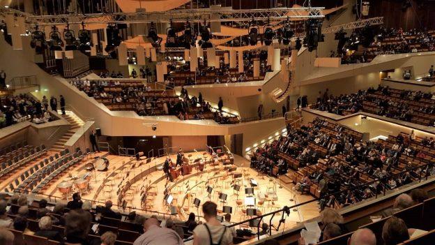 Konzertsaal der Berliner Philharmonie